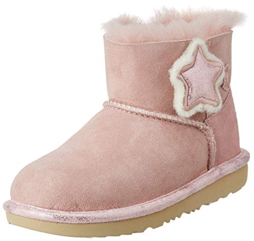 UGG Damen Mini Bailey Button Ii Star Stiefel, Rosa Kristall, 38 EU