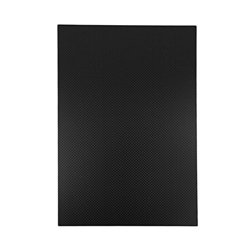 USAQ 300x200x2MM 3K Carbon Fiber Composite Panel for R/C Airframes 2MM Carbon Sheet