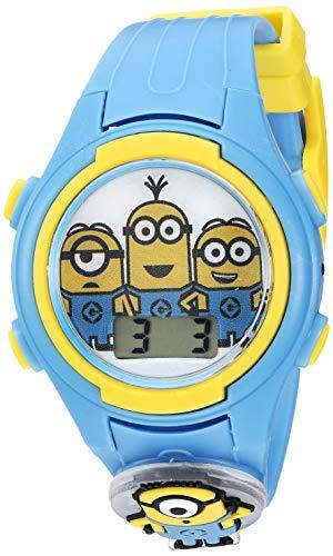 Despicable Me Kids' DSM4161 Digital Display Quartz Blue Watch