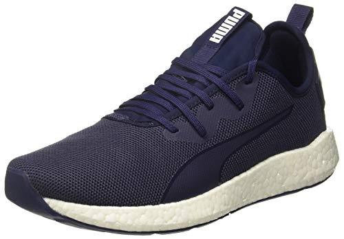 Puma NRGY Neko Sport, Herren Laufschuhe, Blau (Peacoat-Puma White), 46 EU