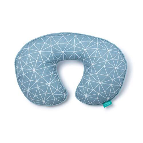 Urban Kanga Cuscino Cervicale da Viaggio per Bambini Cuscino Collo Neonato (Blu)