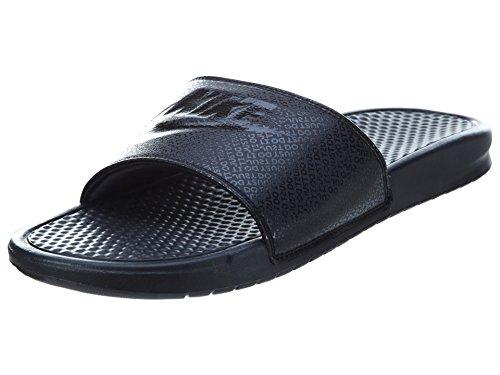 Nike Men's Benassi Just Do It Athletic Sandal - Black