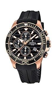 Festina Reloj Cronógrafo para Hombre de Cuarzo con Correa en PU F20367/1 (B07DDK4Q4M) | Amazon price tracker / tracking, Amazon price history charts, Amazon price watches, Amazon price drop alerts