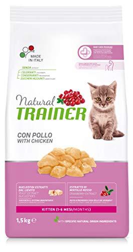 Trainer Natural Cat Kitten con Pollo 1,5 kg x 6-9000 g