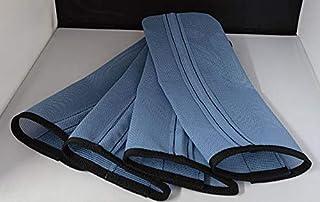 Sassari Horse Fly Leggings   Smoke Light-Blue   Set of 4