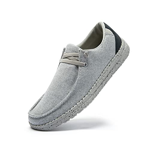 PAMRAY Homme Baskets Enfiler Sneakers Chaussures Lacets...