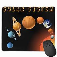 太陽系 マウスパッド ノンスリップ 防水 高級感 習慣 パターン印刷 ゲーミング ホビー 事務 おしゃれ 学習