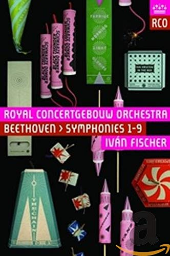 Ludwig van Beethoven - Symphonien 1-9 (Het Concertgebouw Amsterdam 2013/14) [3 Blu-rays]