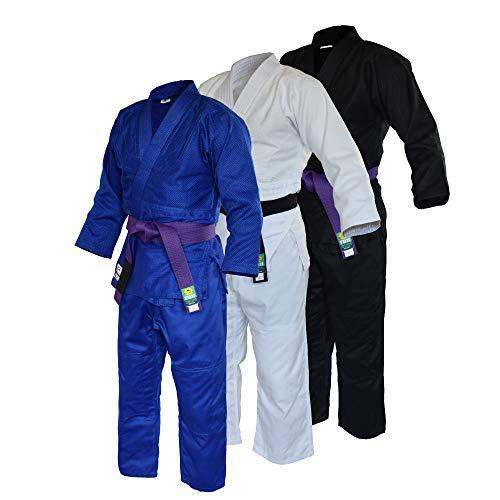 Fuji Judo Gi - w/Free White Belt (White, 5)