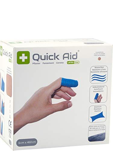 Quick Aid® Pflaster Wundschnellverband selbstklebend latexfrei 6 x 460 cm (hautfarben)