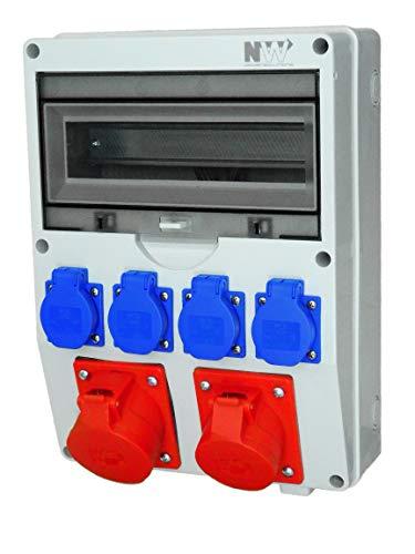 NWP - Distribuidor de corriente (1 enchufe CEE de 32 A, 400