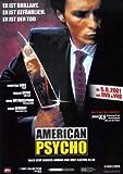 American Psycho - Deutsche – Film Poster Plakat Drucken