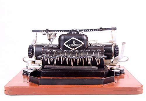 Retro Schreibmaschinenmodell, Heimdekoration, Fotografie Requisiten, Bardekoration 11,8 * 10 * 5,5 Zoll