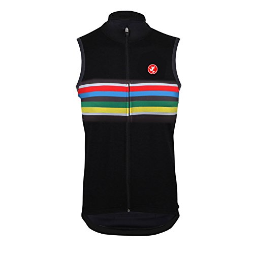 Uglyfrog Bike Wear Ciclismo Maillot Hombres Jersey Sin Mangas Ropa Chalecos Transpirable para Deportes al Aire Libre Ciclo Bicicleta
