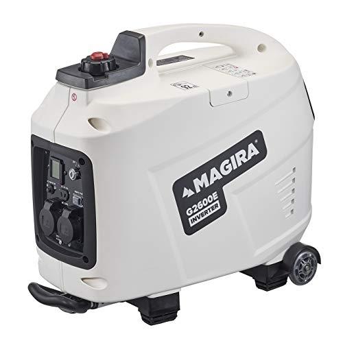 MAGIRA 2,6kW Stromerzeuger Inverter mit E-Start, 2600W Digital Benzin Aggregat in 7 Varianten: 0,8kW - 3,3kW