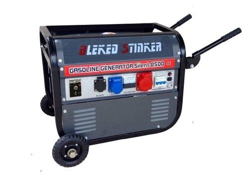 Gruppo elettrogeno/Generatore di corrente 2300W - 220/380V avviamento elettrico con ruote (Cod.4068)