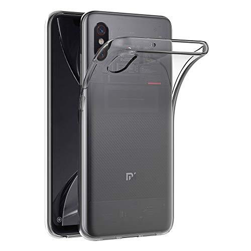 AICEK Funda Xiaomi Mi 8 Pro, Transparente Silicona Fundas para Xiaomi Mi 8 Carcasa Silicona Funda Case (6,21 Pulgadas)