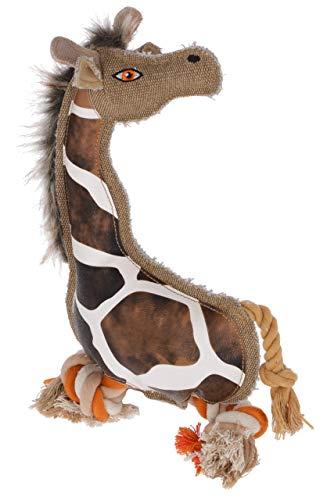 Kerbl Maxi-Pet 80818 Hundespielzeug Giraffe Gina, 29cm