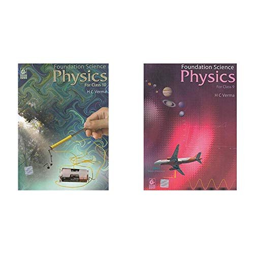 Foundation Science Physics for Class - 10 (2019-2020) Examination) + Foundation Science Physics for Class - 9 (2019-2020) Examination - Set of 2 Books