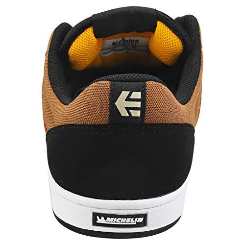 Etnies Marana, Chaussure de Skate Homme, Noir/Marron, 45 EU