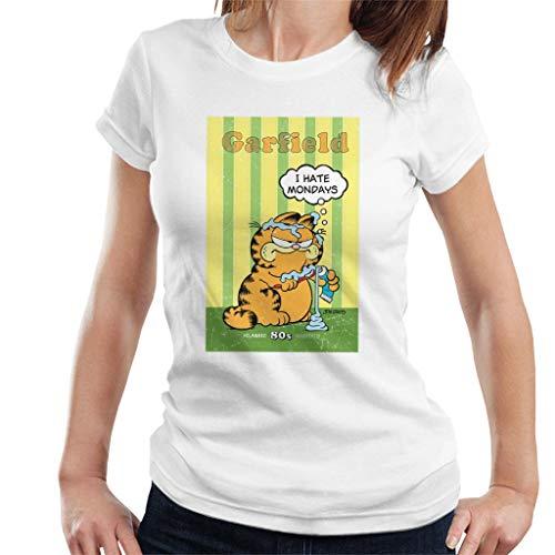 Garfield Grumpy ik haat maandag tandpasta overal vrouwen T-Shirt