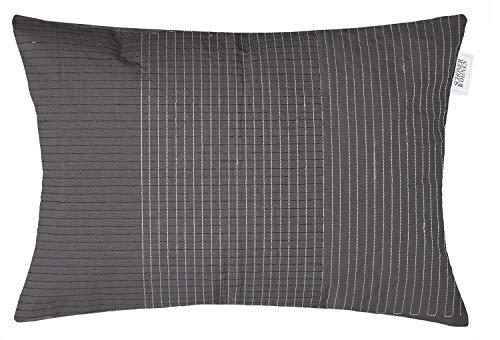 Schöner Wohnen Arty Grafica Kissenhülle Zierkissenhülle Kissenbezug Zierkissenbezug - Größe: 40 x 60 cm - Farben: rot/grün/grau/Rust/bleu