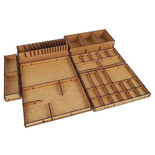 docsmagic.de Organizer Insert for Sword & Sorcery Box - Inserto