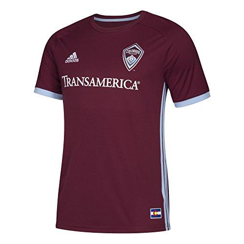 adidas Camiseta réplica de Camiseta Jrsy SS M MLS, Color Burdeos Oscuro, XXL
