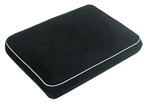 Aidapt Memory Foam Camping/Travel/Lumbar Support Pillow(Black) Ideal for Camping