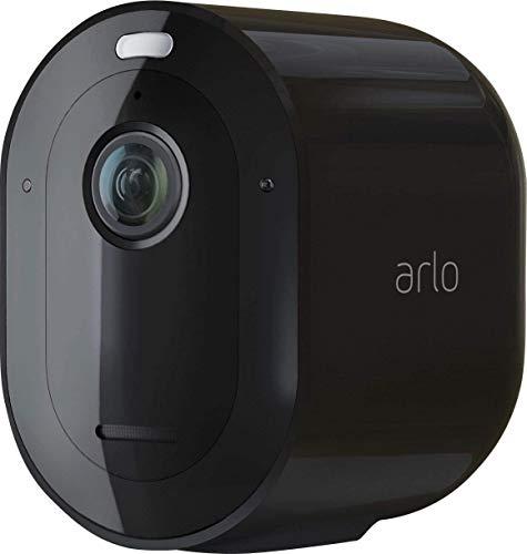 Arlo Pro3 Überwachungskamera & Alarmanlage, 2K UHD, Zusatzkamera, kabellos, Innen/Außen, Farbnachtsicht, 160 Grad Winkel, WLAN, 2-Wege Audio, Spotlight, Bewegungsmelder, VMC4040B, SmartHub benötigt