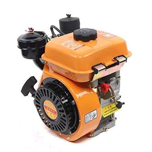 DNYSYSJ Diesel Engine 196CC Vertical 4-Stroke Diesel Engine Manual Start Single Cylinder Engine 2200KW