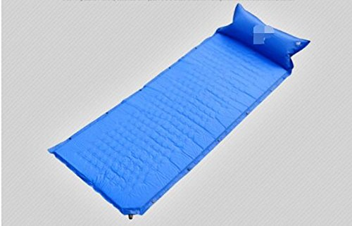 ZHANGHAOBO Self-Study Inflatable Mat Single Stitching Multijoueur Camping Camping Tents Coussins Tapis De Couchage Et Coussins Supplémentaires,A3