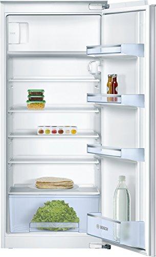 Bosch KIL24V60 Serie 2 Einbau-Kühlschrank mit Gefrierfach / A++ / 122,5 cm Nischenhöhe / 174 kWh/Jahr / 200 L / MultiBox / SafetyGlass