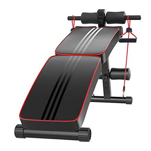 Shykey Innovative Fitnessbank Einzigartiges Design, Faltbar, Rutschfestes Design, Push-Up-Griff, Flacher Hocker,B