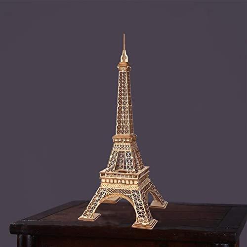 URNOFHW Assemblée Tour Eiffel Puzzle en Bois Modèle 3D Bois Bureau Décor Jouets for Les Enfants en Gros Drop Shipping