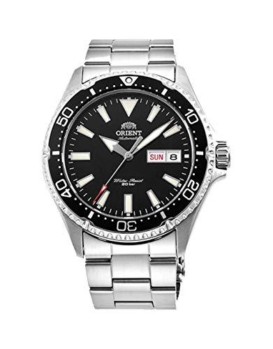 Orient Reloj Analógico para Unisex Adultos de Automático con Correa en Acero Inoxidable RA-AA0001B19B