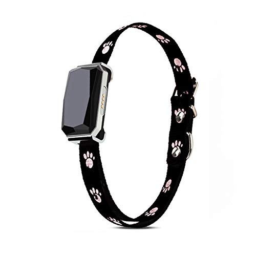 YONGQING Localizador GPS para Mascotas para Perros,Dispositivo Seguimiento en Tiempo Real con Collar,Monitor Actividad localizador buscador Perros y Gatos,localizador Inteligente con Carga USB
