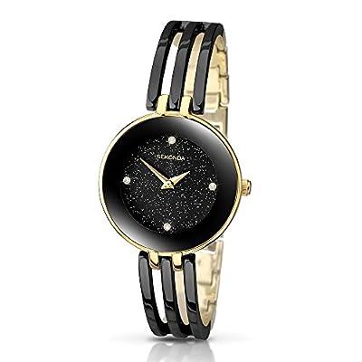 Sekonda - Reloj de cuarzo para mujer con pantalla analógica y pulsera de SEKONDA