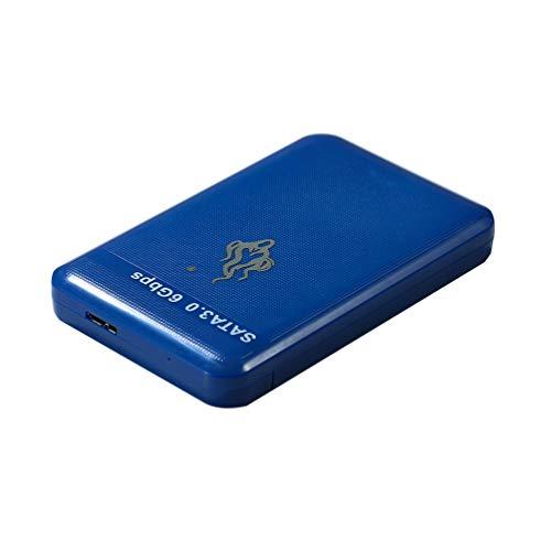 Uonlytech Disco Duro Móvil de Alta Velocidad Usb3. 0 Disco Duro Externo Disco Duro Portátil Portátil (Azul 1 TB)