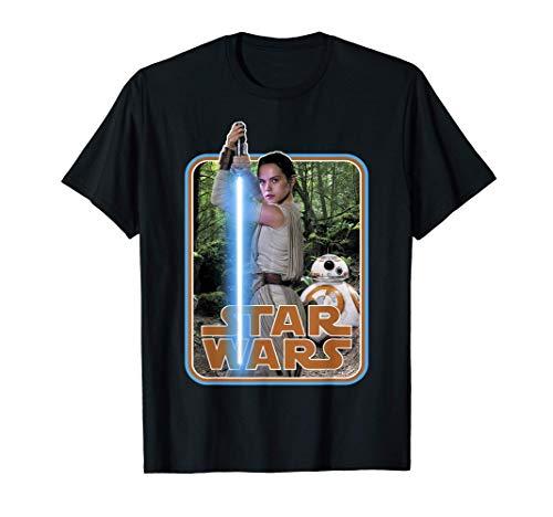 Star Wars Rey & BB-8 Episode 7 Poster Sticker T-Shirt