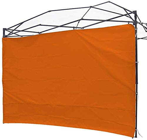 NINAT Side Sunshade Privacy Panel Wall for 3M Gazebos/Canopy Tent Waterproof(Canopy Frame Not Included) (Gray Panel Wall)