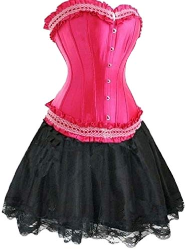 Forever Jonge Dames Burlesque Moulin Rouge Lolita Fancy Jurk Kostuum Korset Jurk Hen Party Outfit