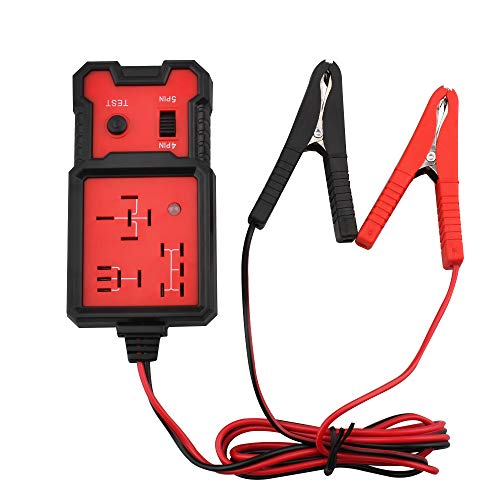COLOR TREE 12V Electronic Automotive Relay Tester Auto Car Diagnostic Battery Checker Tool