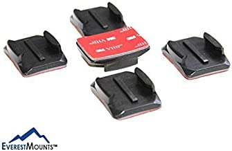 Curved Adhesive Mounts for GoPro