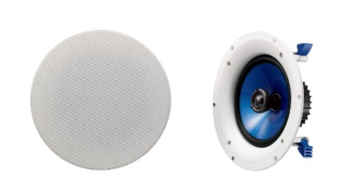 Yamaha NSIC800WH 140-Watts 2-Way RMS Speaker -- White (2 Speakers)