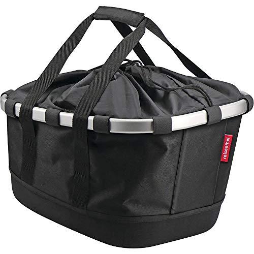 KLICKFIX Unisex– Erwachsene Bikebasket GT Gepacktasche, schwarz, 1size