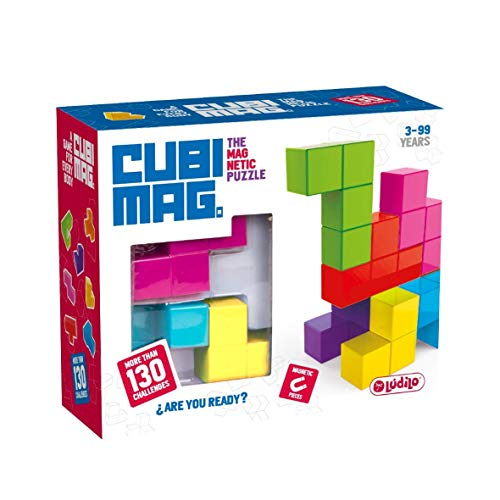 Lúdilo infantiles, niños, Puzzles 3D, Juegos magnéticos de viaje, Juguetes educativos, multicolor (CUBIMAGes un increíble rompecabezas ma) , color/modelo surtido