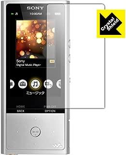 防気泡 フッ素防汚コート 光沢保護フィルム[3枚セット]Crystal Shield ウォークマン NW-ZX100 日本製