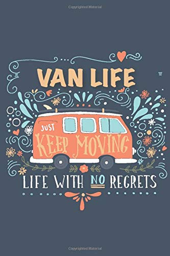 Van Life Journal - Van Life Gifts: Camping Journal, camping gift, road trip journal
