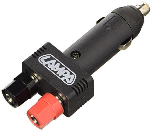 Lampa - Conector mechero con conexión clamp 12/24v